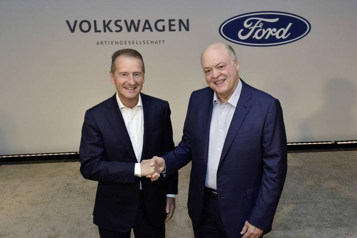 Ford Motor Company és a Volkswagen AG ma bejelentette, h