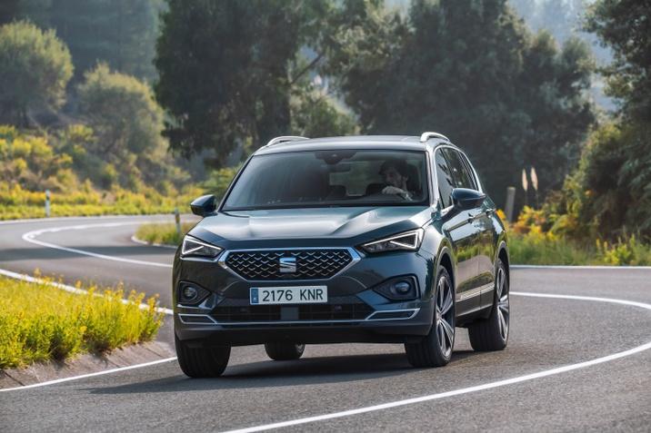 A SEAT Tarraco az Euro NCAP legmagasabb biztonsági szintjét teljesíti