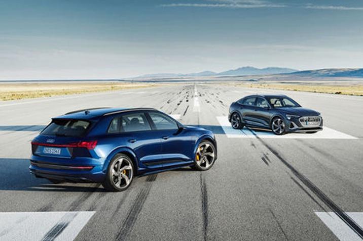 Az Audi e-tron S és az Audi e-tron S Sportback